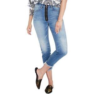 Rachel Roy denim Jeans Cropped 29 slim High Rise